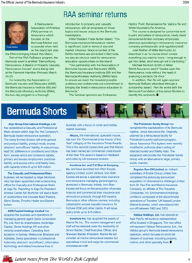 Bermuda Insurance Update - 2009 Vol. 1